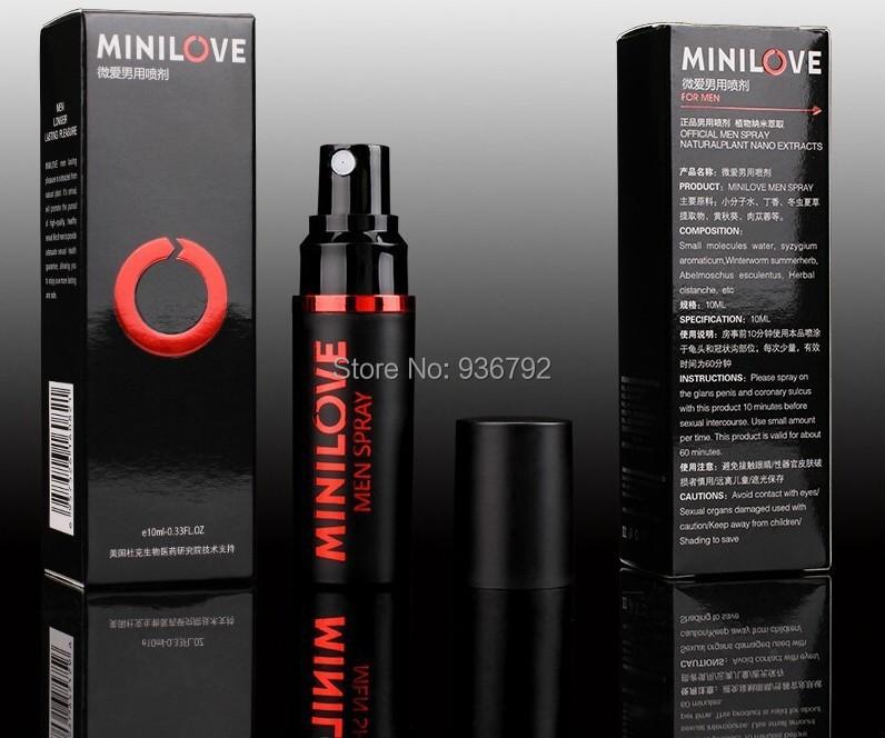 MILILOVE Long-lasting penis erection men spray Anti premature ejaculation Extend sex time sex product,sex toy for men penis(China (Mainland))