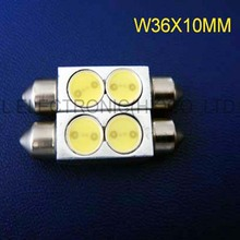 High quality12v 36mm 2w high power car led reading lights, auto led dome lamps free shipping 2pcs/lot