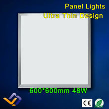 led panel 600x600, 48W 250pcs SMD LED Pannel Light with 3500lm Replace 90W Incandlescent Tube,hight power(China (Mainland))