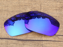 Ice Blue Mirror Polarized Replacement Lenses For Jawbone Sunglasses Frame 100% UVA & UVB Protection