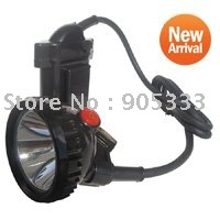 Фотография 5W Brightest Led Mining Light Headlight Charger Through Head,Battery Box 3Chargers Free Shipping