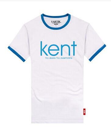 Kent Kent MIDI music festival of lovers fashion cotton T-shirt Ms. male color T-shirt(China (Mainland))