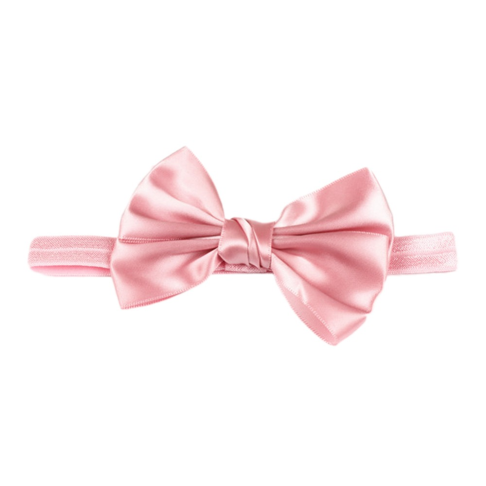 Drop Shipping 2016 Cute Baby Hair Accessories Children's High-quality Hair Bow Ribbon Head bands 10 Colors(China (Mainland))
