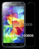 0.4 MM  Tempered Glass Screen Protector Film For Samsung Galaxy S5 i9600 G900F +  Retail Package