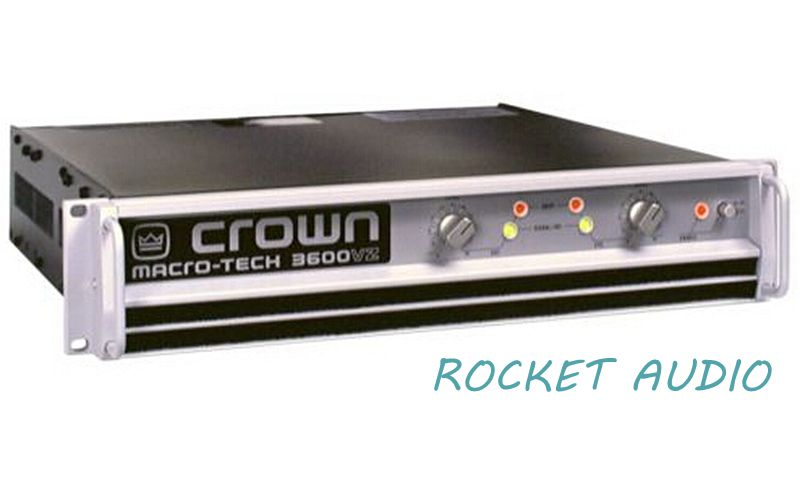 NEW!!!Professional Audio AMP CROWN MA-3600VZ Macro-Tech Series Power Amplifier 1800W-2 Ohms, 1565W-4 Ohms(China (Mainland))