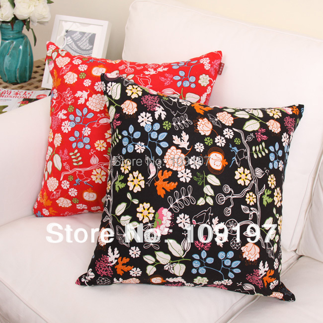 Wholesale! best selling linen cotton fabric sofa decoration car living room chair back pillow cushion over HFBB-08 35cm*45cm(China (Mainland))