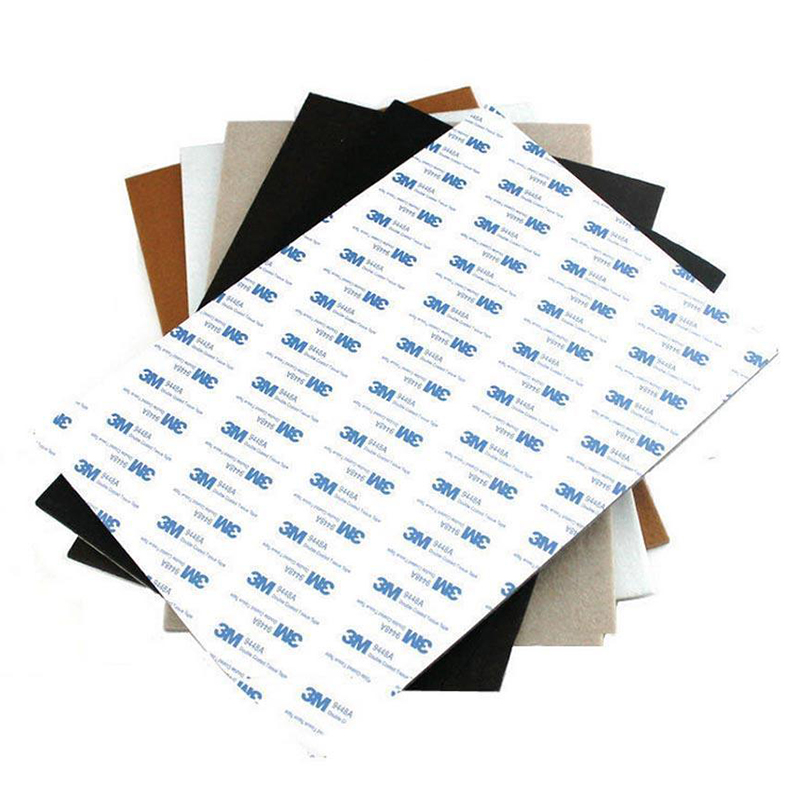 New Arrival Self Adhesive Square Felt Pads Furniture Floor Scratch Protector DIY Furniture Accessories