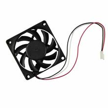 Best Price Computer Case Cooler 12V 7CM 70MM PC CPU Cooling Cooler Fan(China (Mainland))