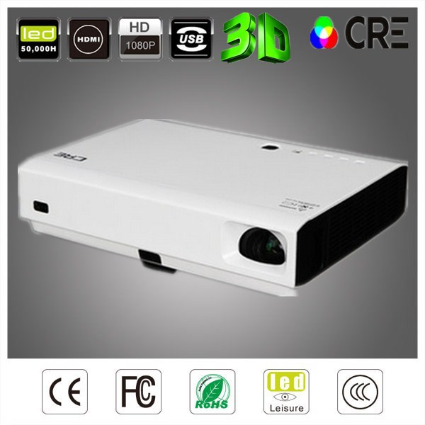 Buy dlp portable 3800 lumens projector for Best small hd projector