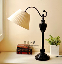 Bedroom lamp bedside lamp simple European modern American living room decorative table lamp study table lamp(China (Mainland))