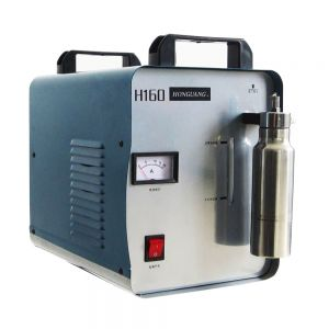 300W Portable Oxygen Hydrogen Flame Generator Acrylic Polishing Machine, 75L 1 Gas Torch free(Hong Kong)