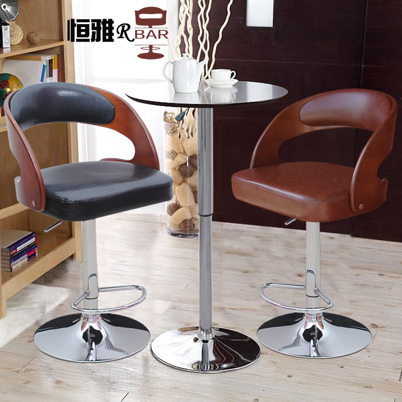 Stylish bar stool chair wood chairs reception barstool H88 Special 2(China (Mainland))