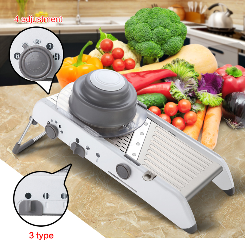 Mandoline Slicer Manual Vegetable Cutter Potato Slicer Carrot Grater Julienne Onion Dicer Kitchen Accessories Cooking Tool(China (Mainland))