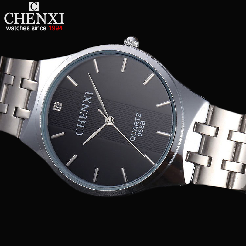 CHENXI Lovers Watches Men Luxury Brand Steel Watch Quartz Mens Wristwatch Clock Male Women Watch Waterproof relogios masculinos<br><br>Aliexpress