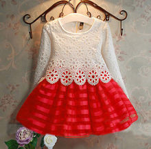 NEW Summer Baby Girl Princess Vestidos Kids Lace Dress Birthday Party Children Clothing 3-8Y