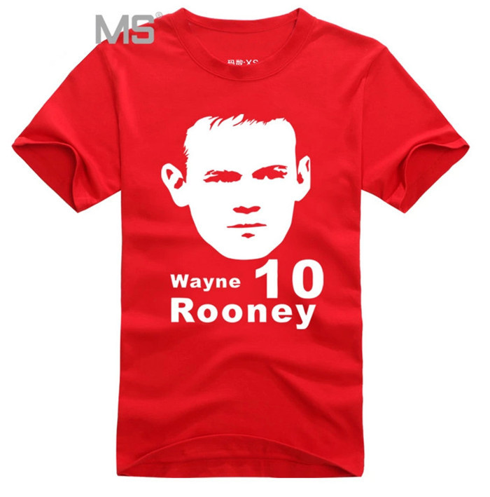 Wayne Rooney Jersey Number Wayne Rooney red United Kingdom Jerseys New man shirt cotton