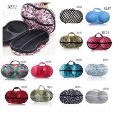 Various Women underwear storage box covered bra box panties socks travel portable bra bag(China (Mainland))