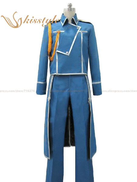 Kisstyle Fashion Fullmetal Alchemist Colthing Roy Mustang Uniform Cosplay Costume,Cusomized AcceptedОдежда и ак�е��уары<br><br><br>Aliexpress