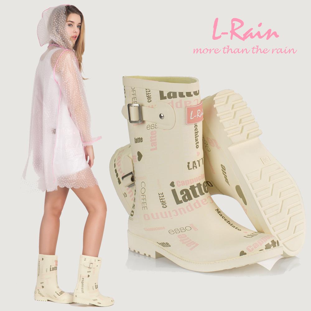 L-Rain Drop Shipping 2014 Women Fashion Brand Low Heels Waterproof Wellies Water Boots High Top Long Rainboots Rain Shoes<br><br>Aliexpress