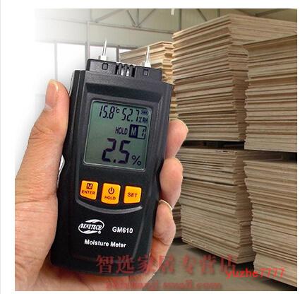 wood moisture meter wood tester moisture testing carton Tester Handheld Portable Hygrometer