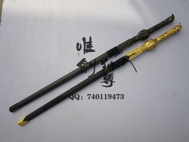 Longquan sword crafts movie swords genuine Longjian sent unopened shelf edge(China (Mainland))