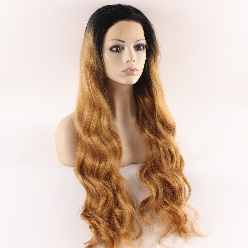 Extra Long Curly Red Stylish Celebrity Lace Front Wig Curly Heat Resistant Fiber Fashion Lady Cosplay Party Wig Red<br><br>Aliexpress