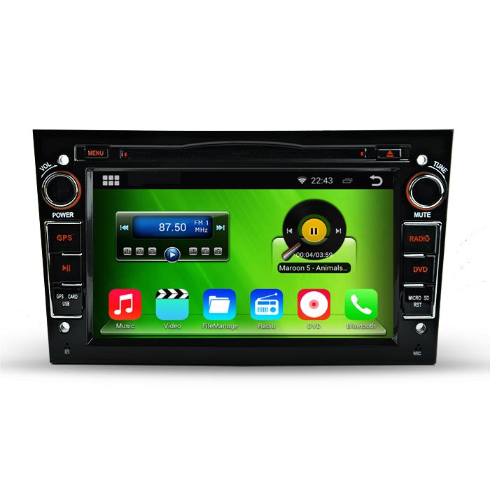 Free Shipping. HD 1024*600 Android 4.4.4 Car DVD GPS For Opel Zafria Meriva Vivaro Astra Vectra Antara With DVR OBD 3G WiFi(China (Mainland))