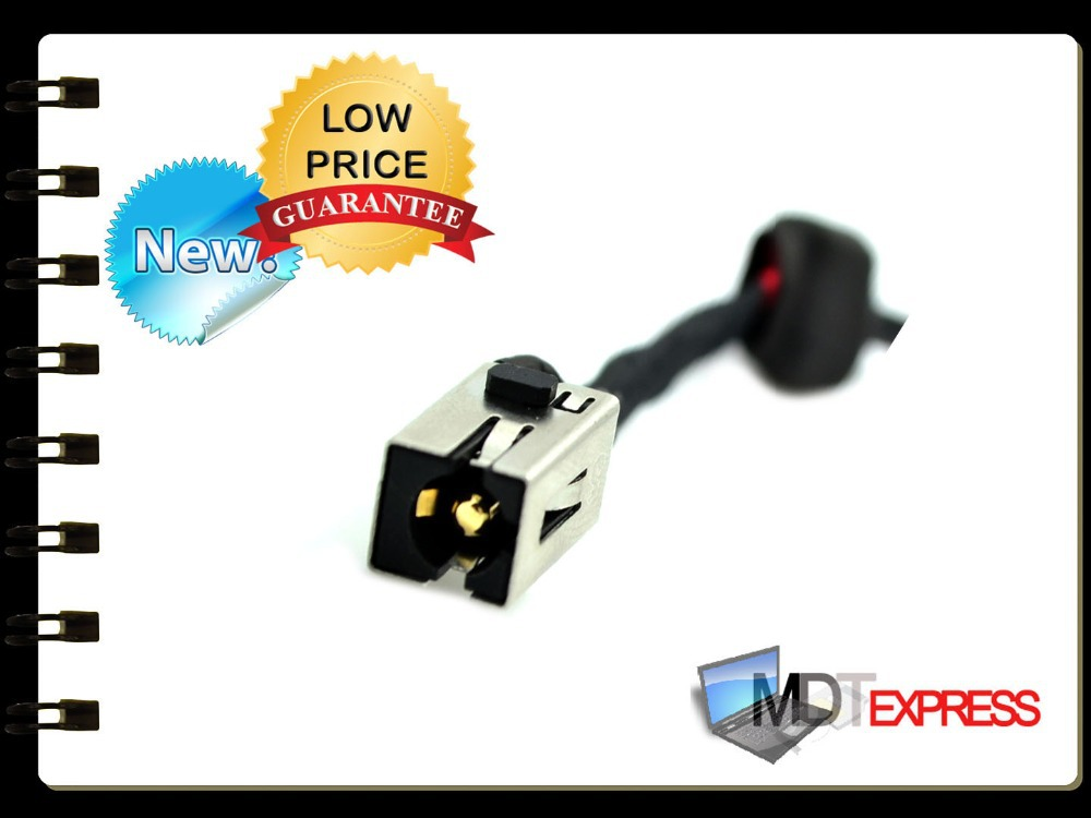 New! AC DC In Power Jack Connector Port w/ Cable for Lenovo Ideapad G470 G470AP G475 G570 G575 Y470 Y471 DC30100CS00(China (Mainland))