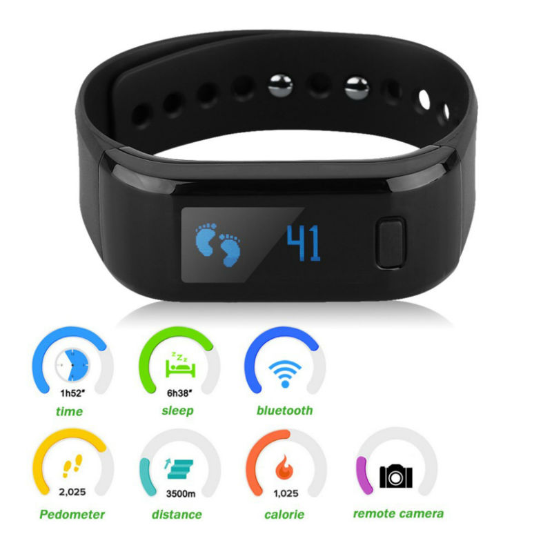 Moving Up Waterproof Bluetooth Bracelet Band Smart Fitness Tracker Wristband Outdoor Sports Band High Quality Wearable Device(China (Mainland))
