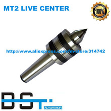 Free shipping for 1PC New MT2 LIVE CENTER MORSE TAPER TRIPLE BEARING 2 MT Morse Taper #2 NEW LATHE CNC(China (Mainland))
