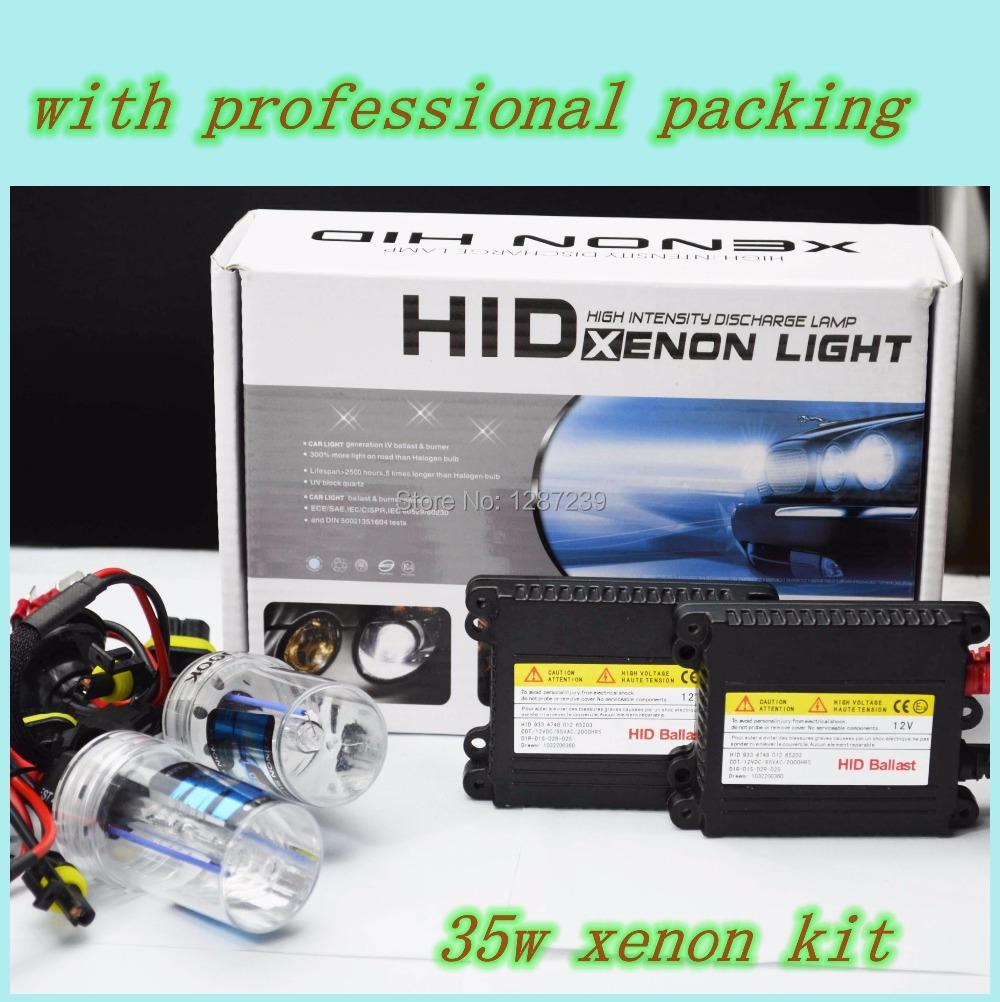 35w AC h1 HID kit quality super slim hid xenon kit / hid headlight/hid bulb/h1 h3 h4 h7 h11 h13 9005 9006 kit(China (Mainland))