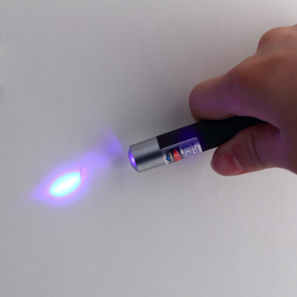 1Pc Powerful 5mw 405nm Professional Lazer Blue/Violet Laser Pointer Pen Beam Light High Quality(China (Mainland))