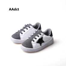 Buy AAdct little kids shoes spring old white children shoes girls New casual sport boys shoes sneakers for $24.79 in AliExpress store