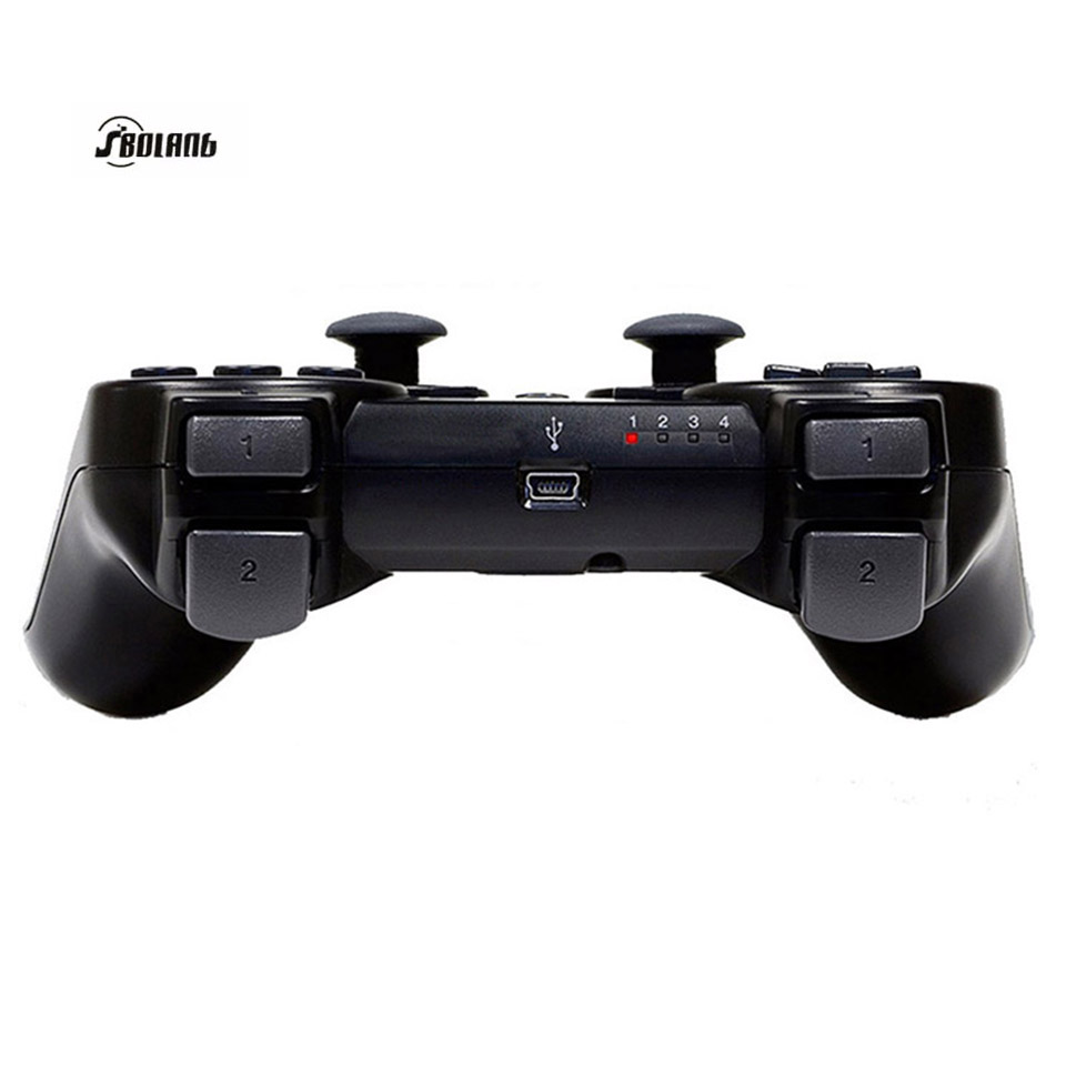 Wireless Bluetooth Game Controller SIXAXIS Joysticks Controller For PS3 Controller for PS3 Playstation3 Black(China (Mainland))