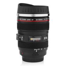 Mini 350ML Lens Cup Tea Mug Similar to Caniam Zoom Lens EF 24-105mm 1:4 IS USM - Black(China (Mainland))