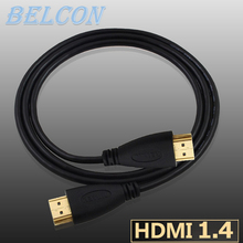 hdmi cable 1M,1.5M,2M,3M,5M,10M,15M Gold Plated Plug Male-Male HDMI Cable 1.4 Version 1080p 3D for HDTV XBOX PS3