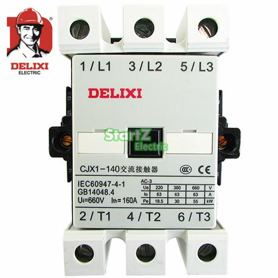 140A 36VAC Magnetic Electrical Contactor CJX1-140 DELXI 3TF51<br><br>Aliexpress
