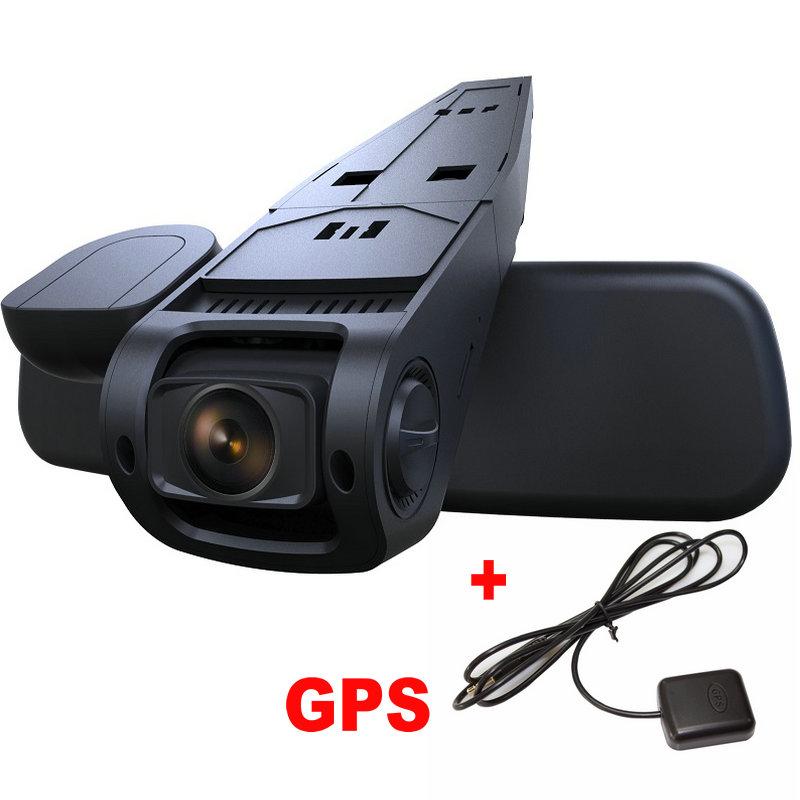 Car DVR Full HD FHD 1080P Mini Car Dash Cam Camera DVR + GPS Module Tracker 1.5 inch B40 A118 Novatek 96650 AR0330 Black(China (Mainland))