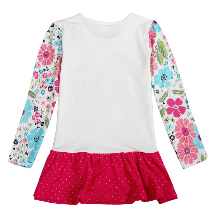 free shipping beige baby summer dresses 2 6t children