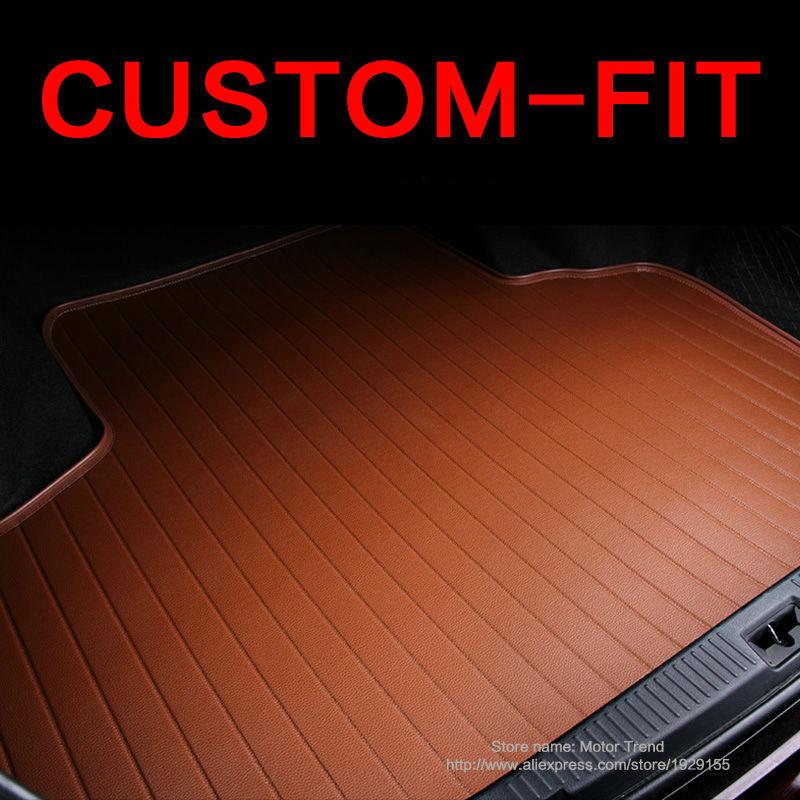 Custom fit car trunk mat Infiniti EX25 FX35/45/50 G35/37 Q70L QX80/56 3D weather car-styling tray carpet cargo liner