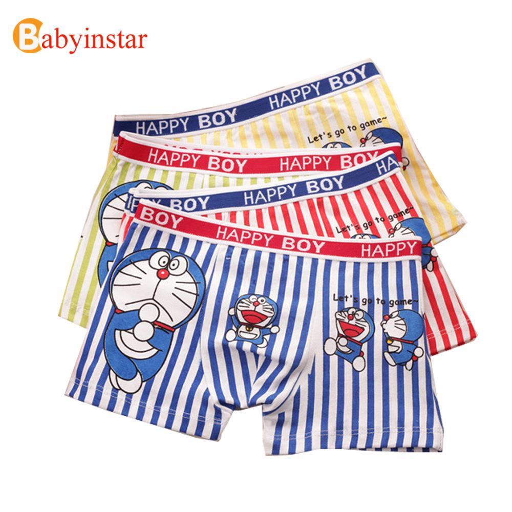 6 PCS/Lot 2-10Yrs Kids Panties Cotton Boys Cartoon Briefs kid's Apparel Good Costumes Children Underwear Baby Briefs Boxers(China (Mainland))