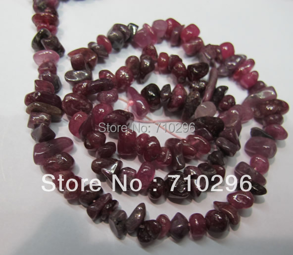 100% natural Ruby stone 4x8mm gemstone nugget jewelry diy Beads.5strings/lot,Free shipping