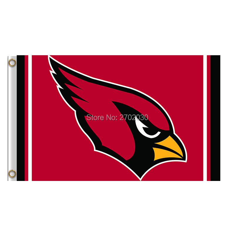 Arizona Cardinals Flag World Series Football Team 3ft X 5ft Larry Fitzgerald Anquan Boldin Banner Arizona Cardinals Banners(China (Mainland))