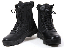 Free Shipping ! 39-45 Men's Jungle Boots Dessert Tactical Combat Boots Outdoor Hiking Shoes Army Military Boots .199