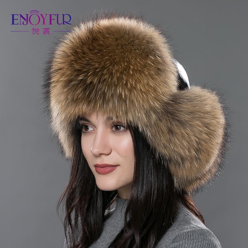 aliexpress buy s fur hat for winter genuine