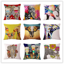 Buy elephant series Style 45*45cm Square Home Decorative Pillow Music Note Printed Throw Pillows Car Home Decor Cushion Cojines for $3.64 in AliExpress store