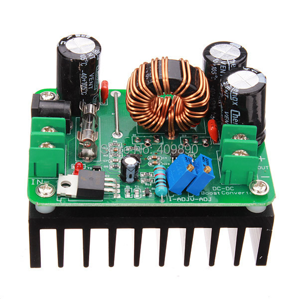DC-DC 600W 10-60V to 12-80V Boost Converter Step-up Module Power Supply(China (Mainland))