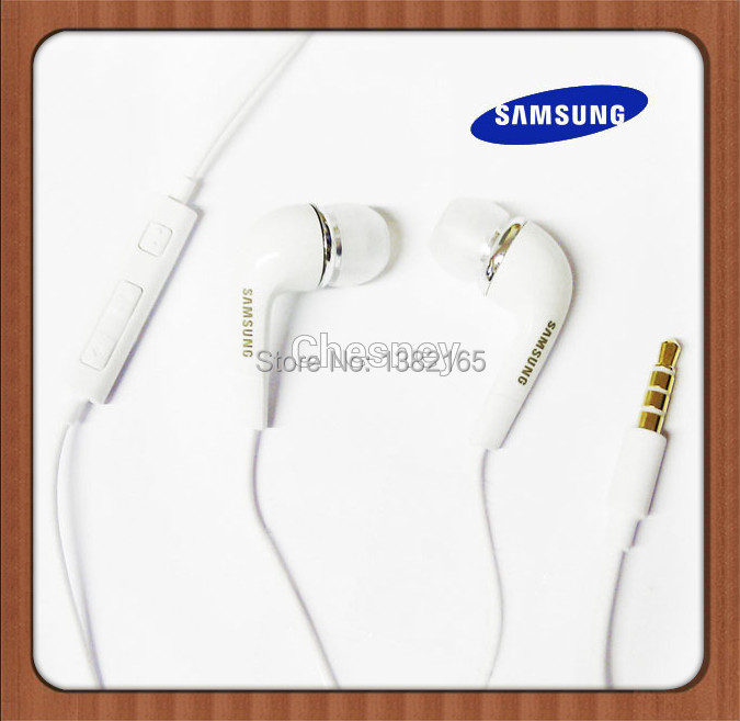 DropShipping Samsung Headphones 3.5mm IN-EAR Headset Earphone For Samsung Galaxy S2 S3 S4 S5 NOTE 2 3 MP3 MP4 reeShipping