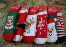 1pair /lot Perfect quality New Arrival Christmas socks Baby Multistyle Cute Pattern Socks Kid socks children appreal 1-3 years