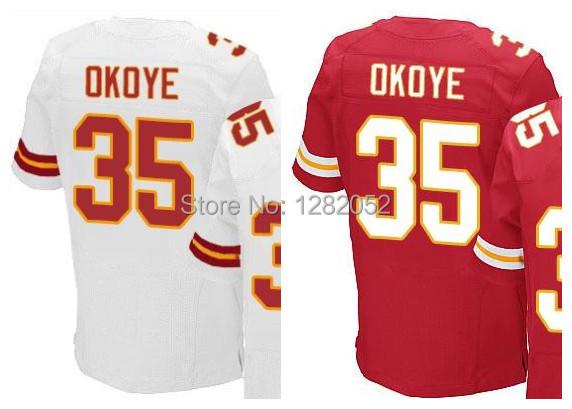 Football Jerseys #35 Okoye New  Style football jerseys 40 breaux 12 cj 39 2015 new style